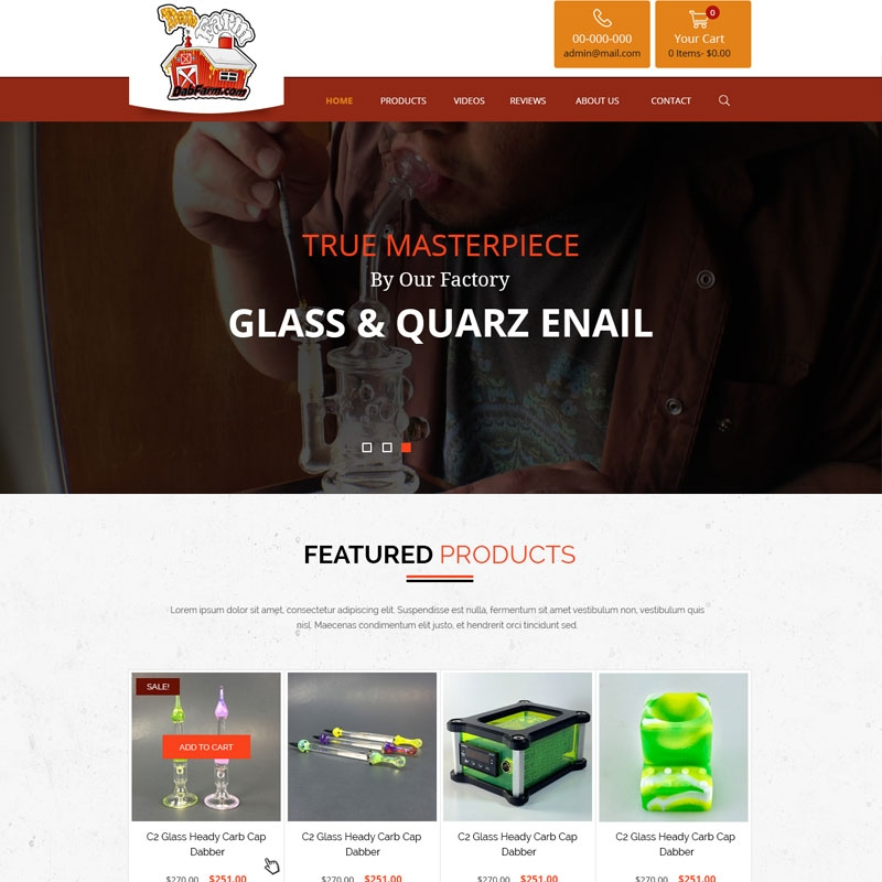 Theme Based E Commerce Website