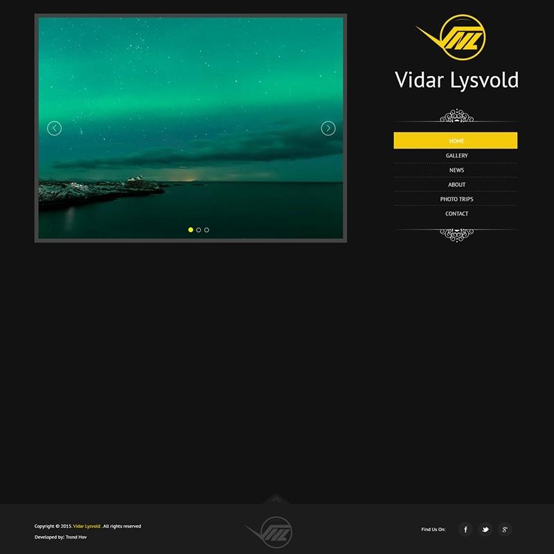 PhotoGraphy Website Development In WordPress